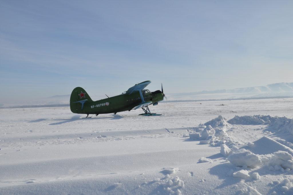 АН-2 готовится ко взлету