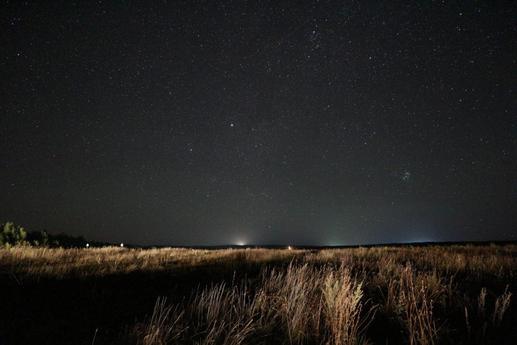 фотография звезд и поля