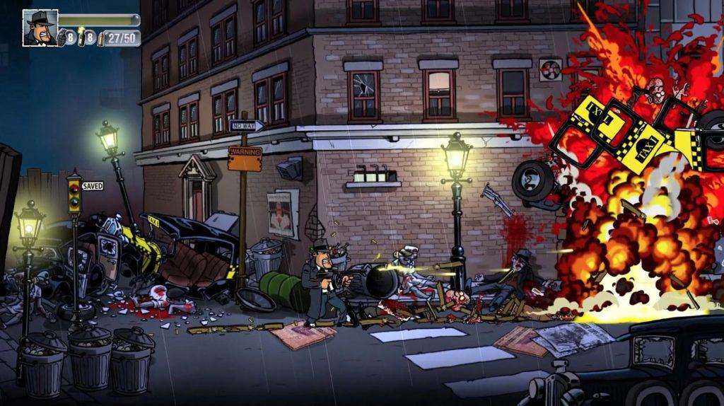 Guns, Gore & Cannoli геймплей