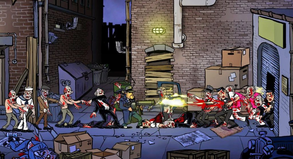 Guns, Gore & Cannoli геймплей 2