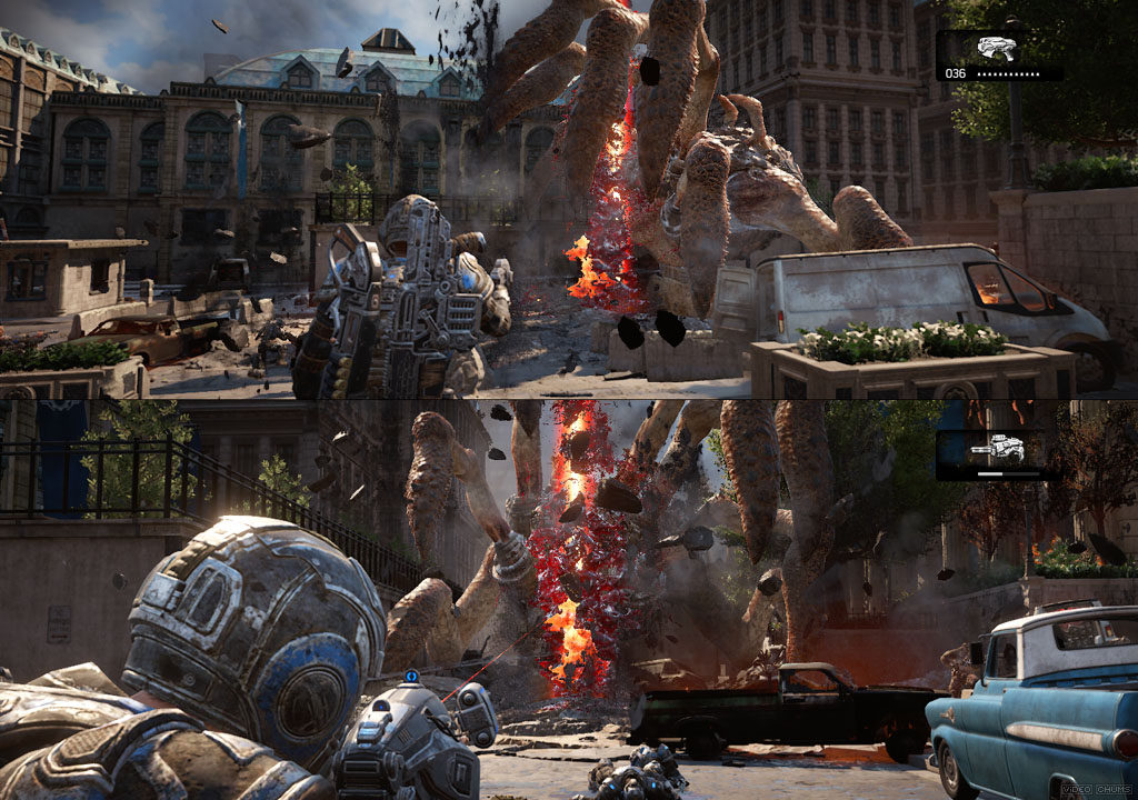 gears of war split screen