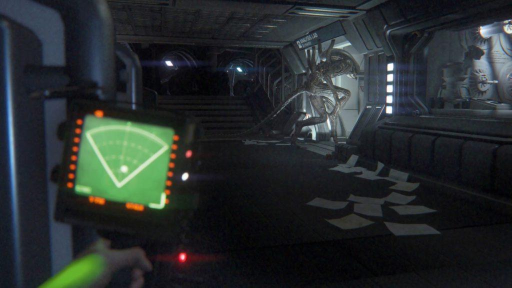Alien Isolation геймплей