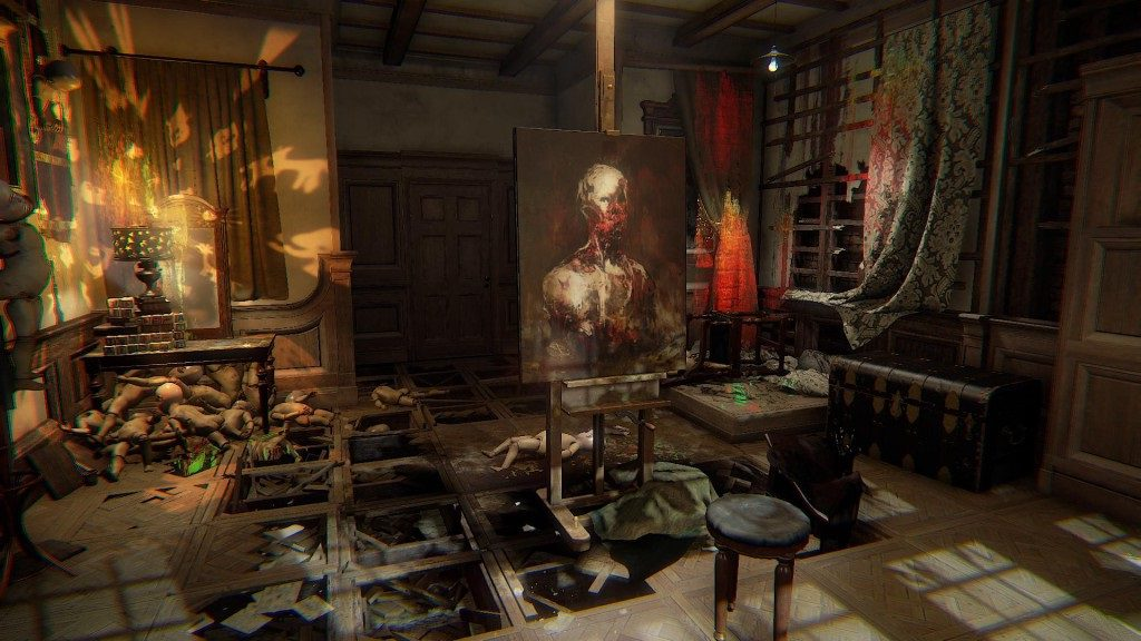 Layers of Fear геймплей