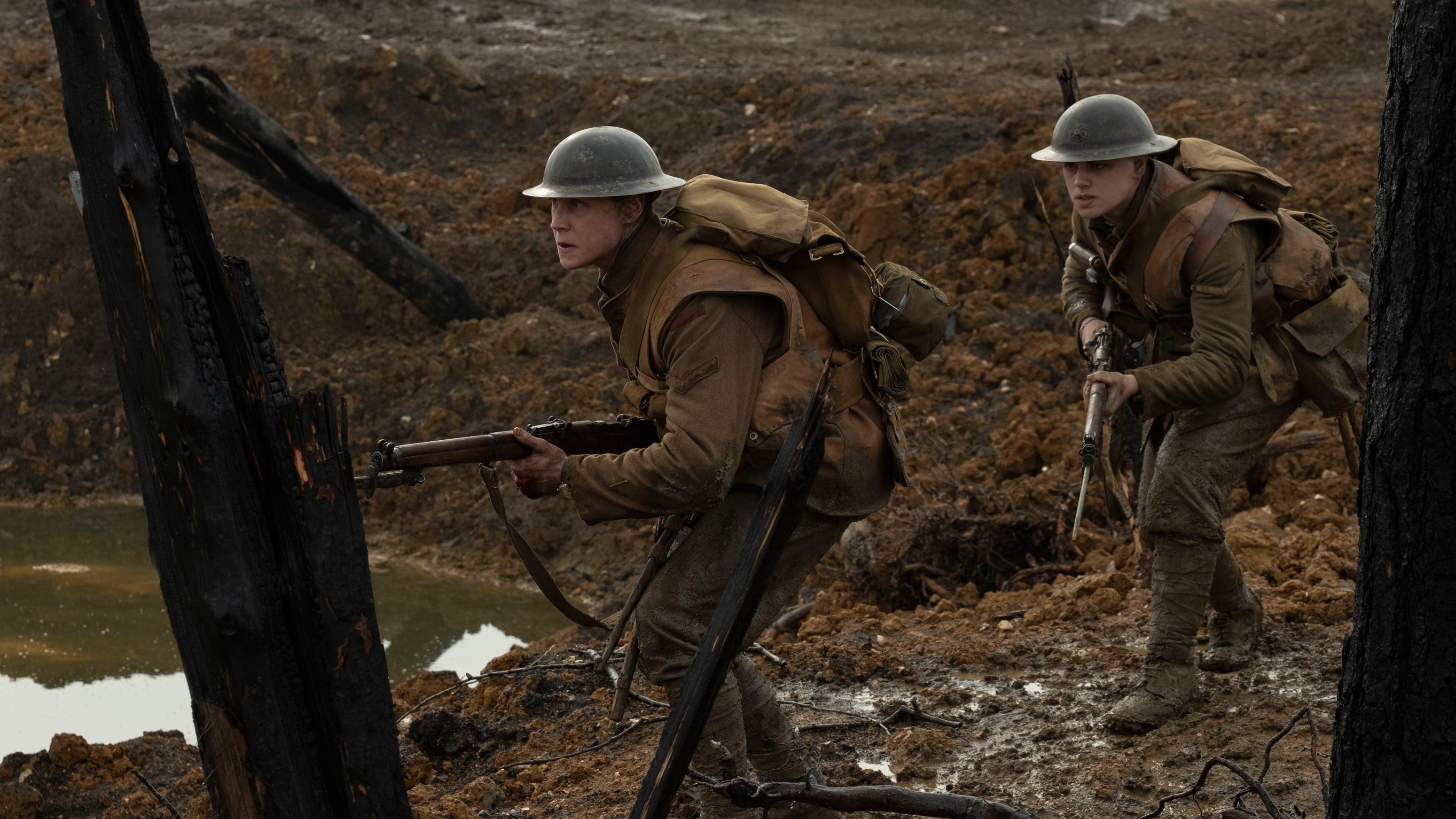 Реалистичный фильм про первую мировую войну 1917